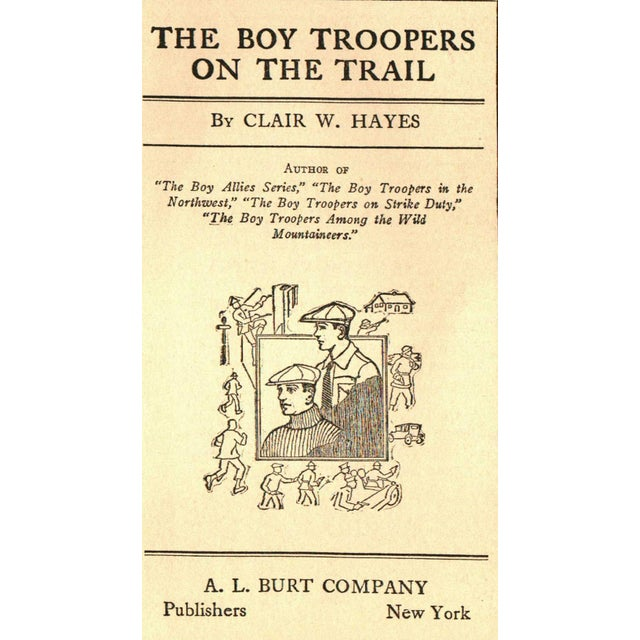 """Children's """"The Boy Troopers on the Trail"""" Book For Sale - Image 3 of 3"""