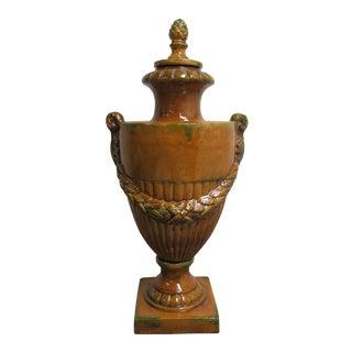Modern Italian Regency Ceramic Urn For Sale