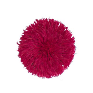 Juju Hat Cherry Pink Feather Headdress
