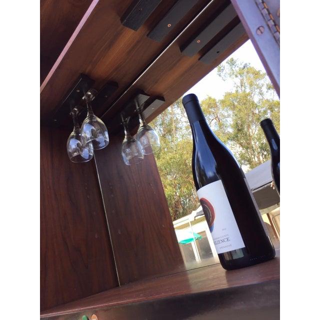 Glenn of California Mid Century Modern Wine Bar - Image 5 of 8