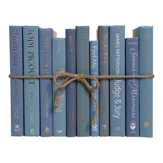 Modern Marlin ColorPak - Decorative Books in Shades of Cool Blue