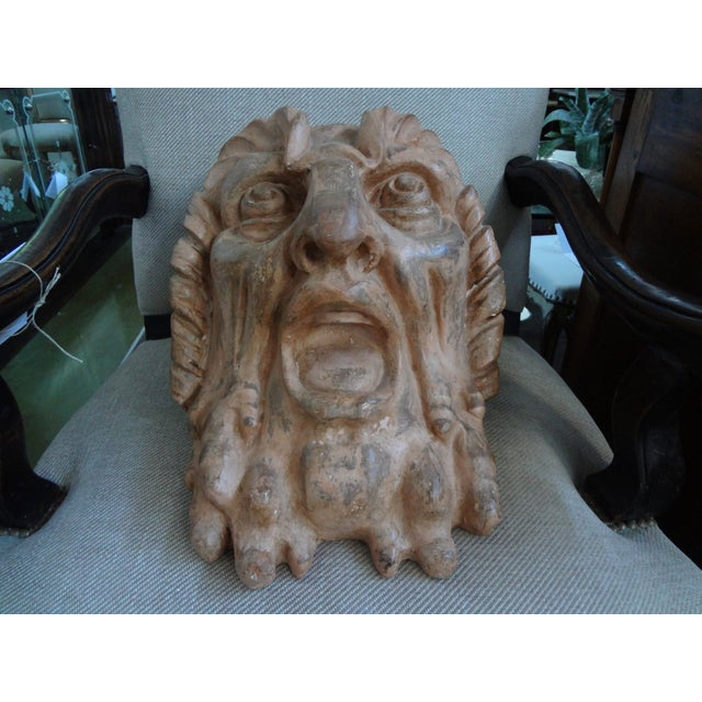 Antique French Baroque Terra Cotta Bust - Image 5 of 9