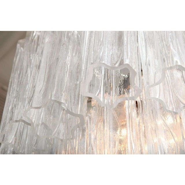 1960s Venini Tube Chandelier For Sale - Image 5 of 8
