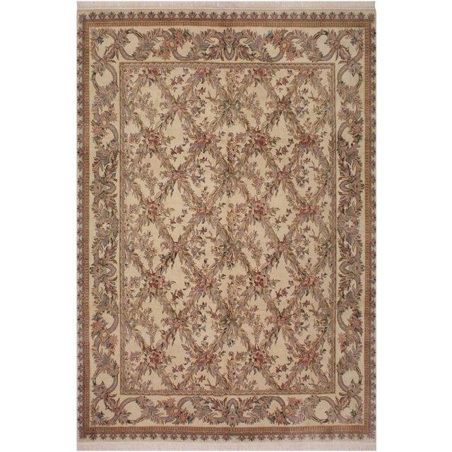 Victorian Basan Pak-Persian Rossana Wool Rug - 8′5″ × 10′ For Sale