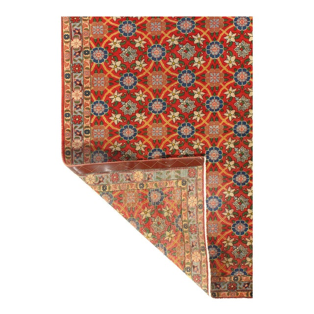 Veramin rugs are carpets and rugs woven in city of Varamin and its surrounding area which are among most famous carpets in...