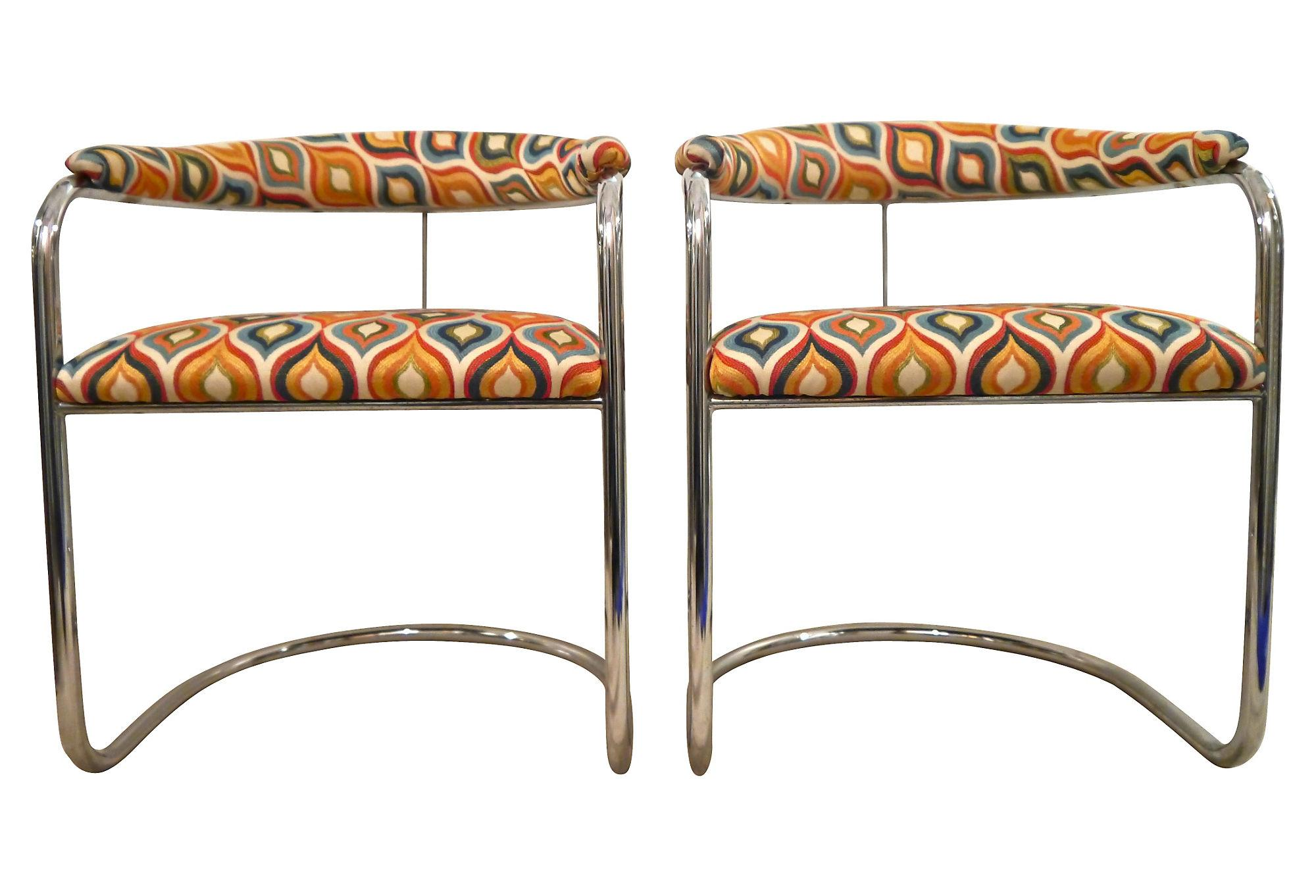 Anton Lorenz Chairs For Thonet   A Pair   Image 7 Of 7