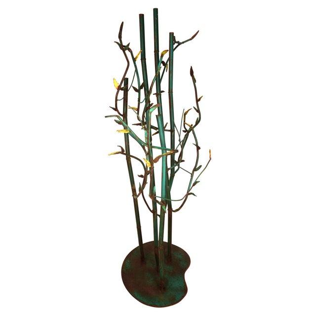 Steel Bamboo Sculpture - Image 5 of 5