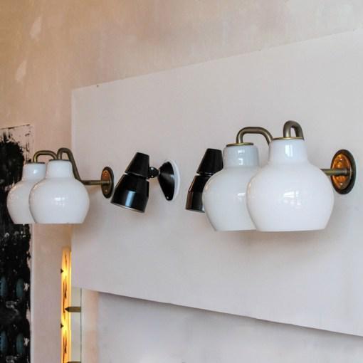 1950s Vilhelm Lauritzen Double Wall Lights For Sale - Image 5 of 10