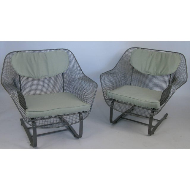 1950s Pair of Russell Woodard 1950s Sculptura Lounge Chairs For Sale - Image 5 of 9