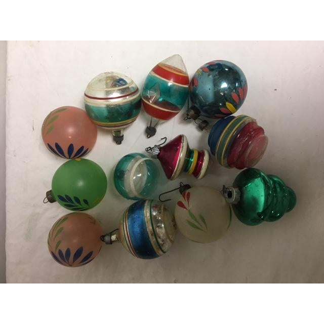 Vintage Assorted Glass Ornaments - Set of 12 - Image 2 of 6