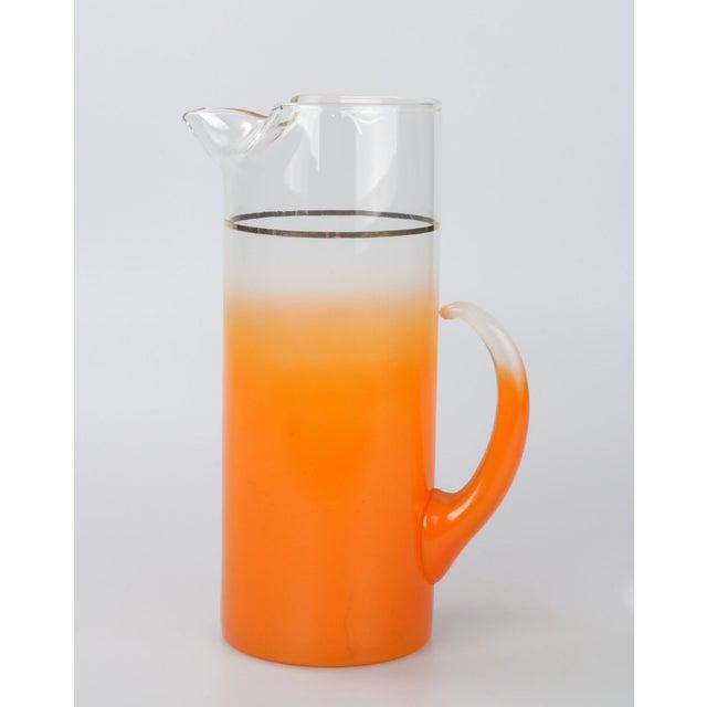 Orange Ombré Pitcher - Image 5 of 6