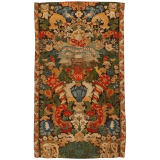 Antique 17th Century French Tapestry For Sale