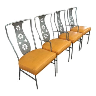 """Set of Original Salterini """"Montego"""" Chairs ( Two Arm, Two Armless ) For Sale"""