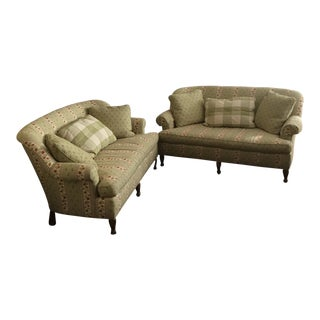 Wesley Hall Madison Settees - A Pair For Sale