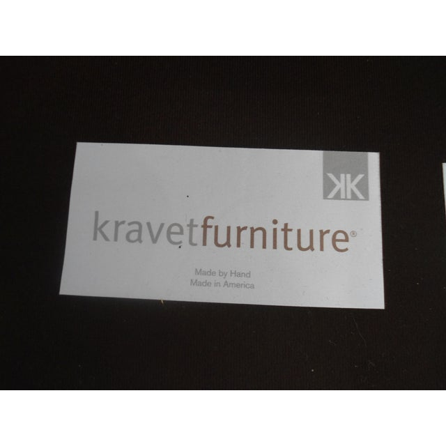 Kravet Chesterfield 3-Seat Sofa, Brown Tufted Leather For Sale - Image 10 of 11