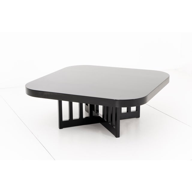 Mid-Century Modern Richard Meier Cocktail Table For Sale - Image 3 of 4