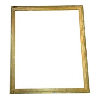 1930's Brass Frame