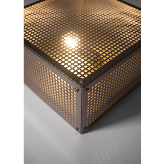 Modern Contemporary 001 Flush Mount in Nickel by Orphan Work For Sale - Image 9 of 10