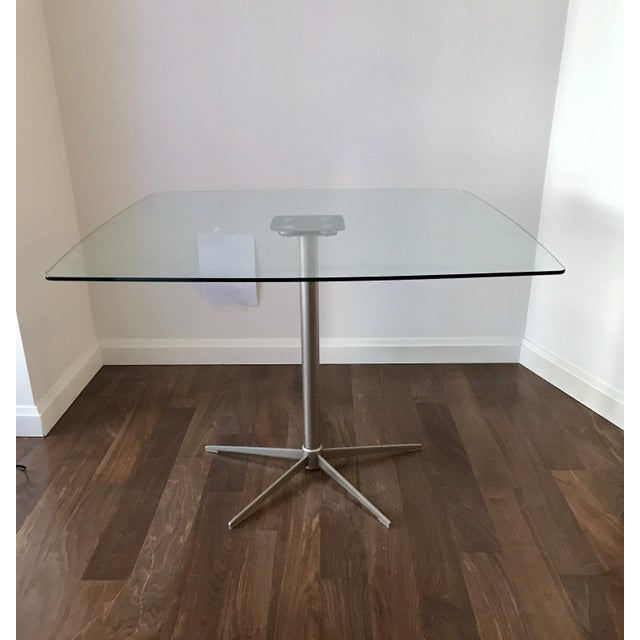 Square Glass Dining Table - Image 9 of 10