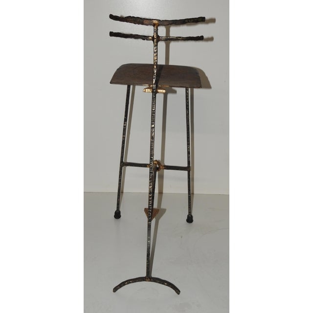 Mid-Century Modern Giacometti Style Bar Stools - A Pair - Image 7 of 8