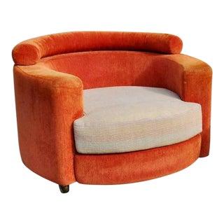 1960s Vintage Vladimir Kagan for Roche Bobois Club Chair For Sale
