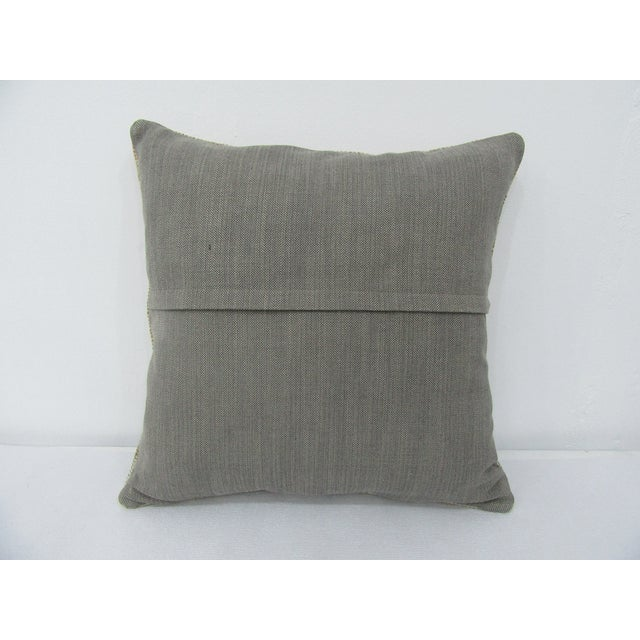 Turkish Turkish Faded Decorative Vintage Pillow Cover For Sale - Image 3 of 4
