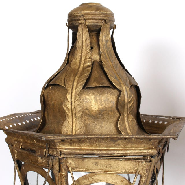 Pair of 19th Century Italian Processional Lanterns For Sale In San Francisco - Image 6 of 11
