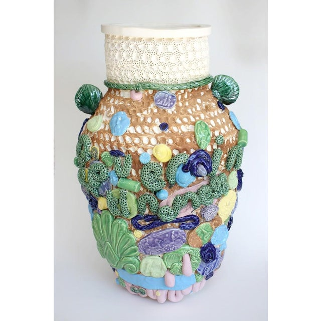 Contemporary Glenn Barkley, Nevereinthefieldofhumankindness Large Vessel for Bc, 2018 For Sale - Image 3 of 3