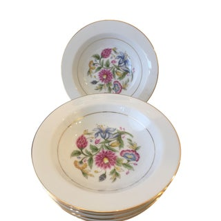 Noritake Chinoiserie Flower Bowls - Set of 6