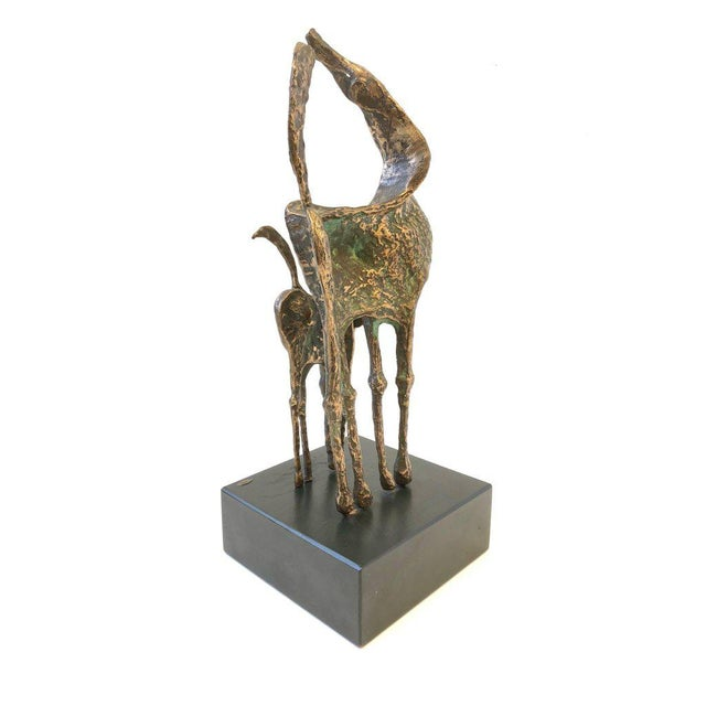 Curtis Jere Bronze Horses Sculpture by Curtis Jere For Sale - Image 4 of 10