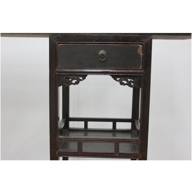 Estimated retail price: $4080 Sarreid LTD presents an Antique Ming Style Console Table. A three piece antique Shandong...