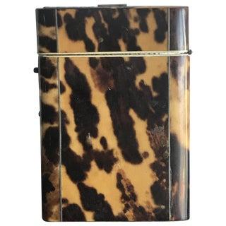 Tortoise Shell Cigarette Box
