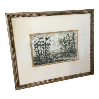 Late 20th Century Soicher-Marin Tropical Landscape Print For Sale