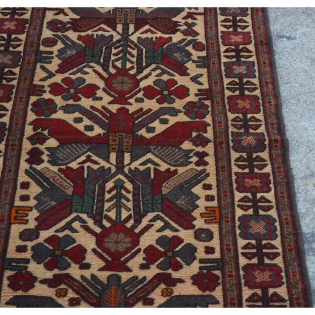 "Islamic Vintage Turkish Kilim Rug Runner - 2'7"" x 11'10"" For Sale - Image 3 of 7"