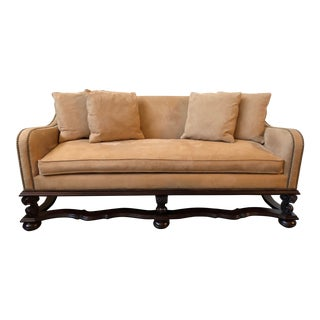 Ralph Lauren Home Baroque Settee For Sale