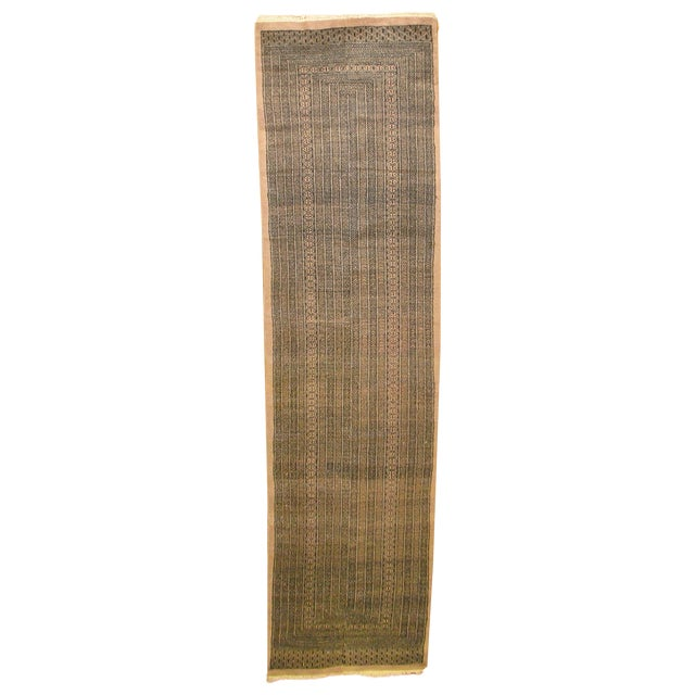 Vintage Bokhara Brown Runner - 2'3'' X 11' - Image 1 of 4