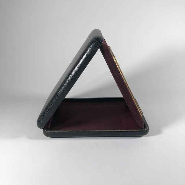 Early 20th Century Antique Bronze Travelling Picture Frame For Sale - Image 5 of 7