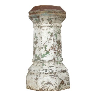 Victorian English Terracotta Chimney Pot / Garden Planter For Sale