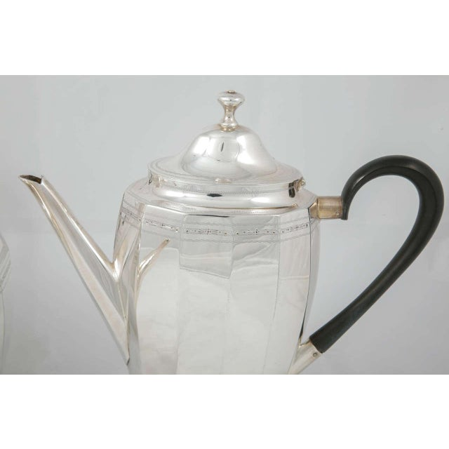 Coffee and Tea Pot Set For Sale - Image 4 of 7