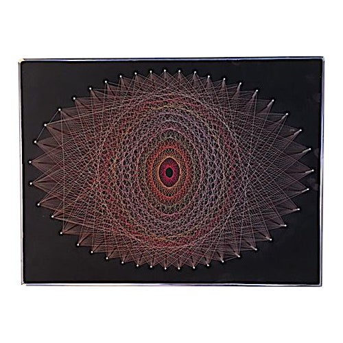 Mid-Century 1970s String Art - Image 1 of 6