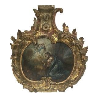 Antique 1800's Greek Cartouche For Sale