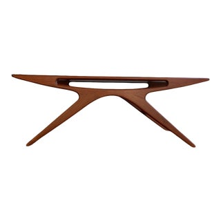 Mid Century Modern Styled Smile Coffee Table For Sale