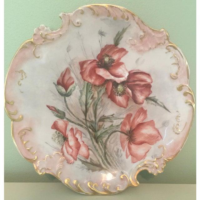 1899 Antique Limoges Plate, Artist Signed