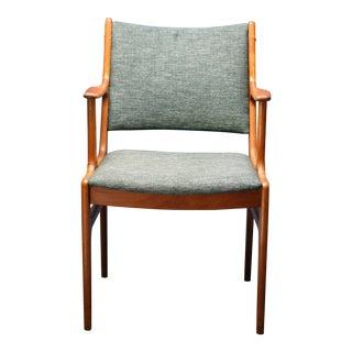 Mid-Century D-Scan Teak Side Chair