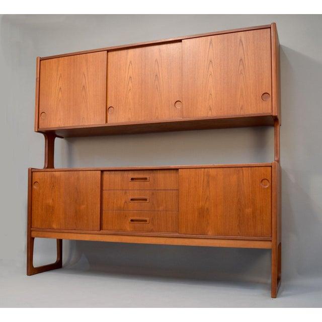 1960s Danish Teak Room Divider Sideboard - Image 2 of 11