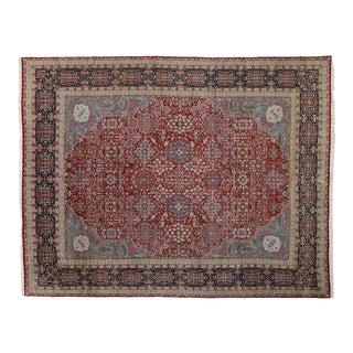 Vintage Persian Kerman Rug - 13'00 X 16'10 For Sale