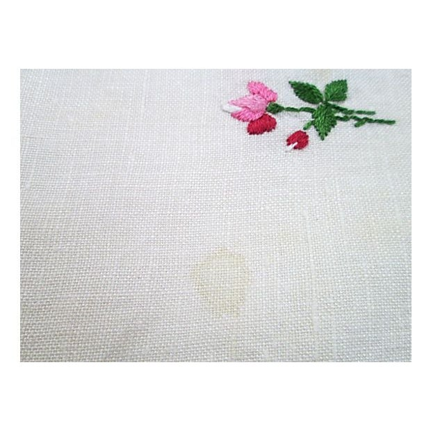 Hand-Embroidered Table Square - Image 4 of 6