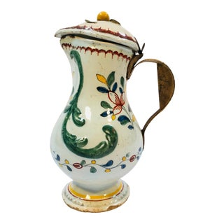 18th C. French Pitcher