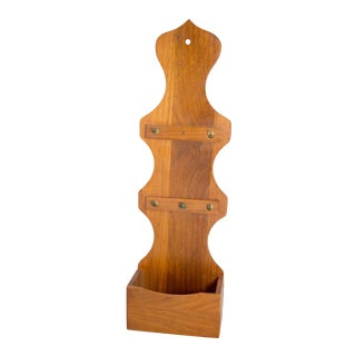 Drexel Wooden Wall Pocket For Sale