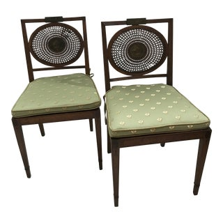 English Adams Chairs- a Pair For Sale